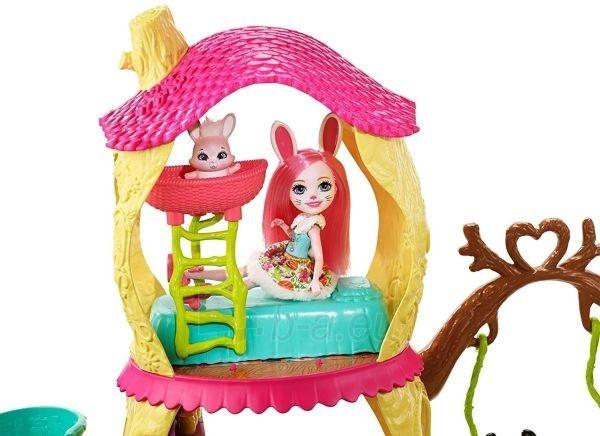 Pandos žaislinis namas FNM92 Enchantimals Playhouse Panda Set Paveikslėlis 3 iš 6 310820119002