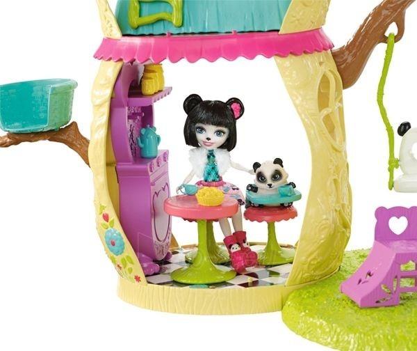 Pandos žaislinis namas FNM92 Enchantimals Playhouse Panda Set Paveikslėlis 5 iš 6 310820119002