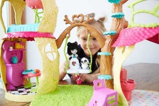 Pandos žaislinis namas FNM92 Enchantimals Playhouse Panda Set Paveikslėlis 6 iš 6 310820119002