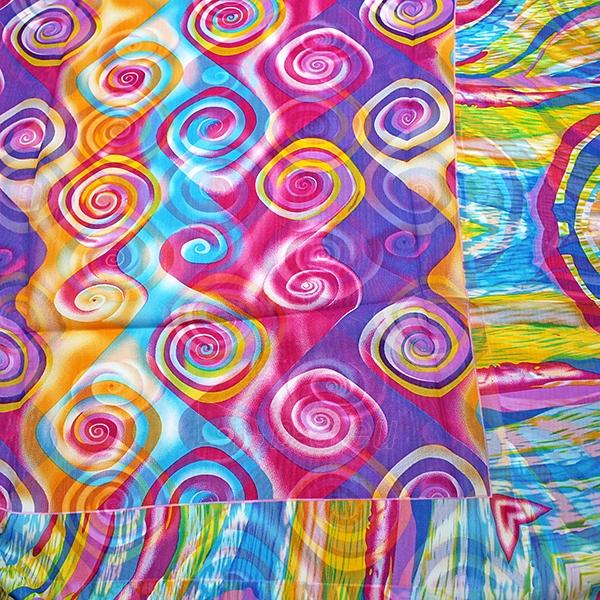 Paplūdimio scarf PSK1270 Paveikslėlis 2 iš 2 310820041000