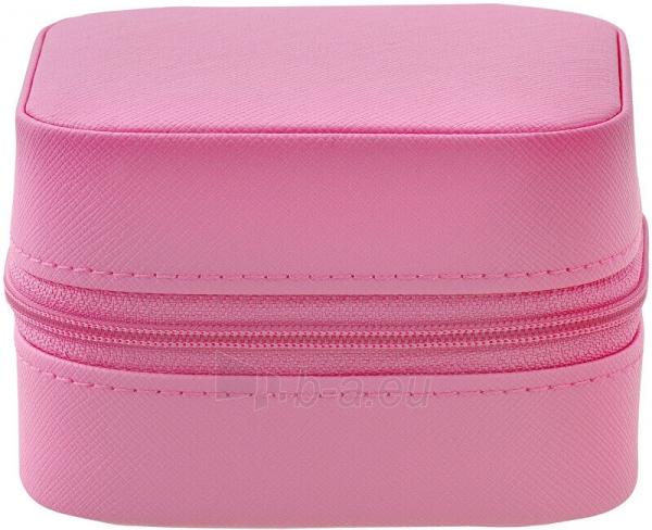 Papuošalų dėžutė Beneto Bright pink travel jewelry box Paveikslėlis 4 iš 4 310820204569