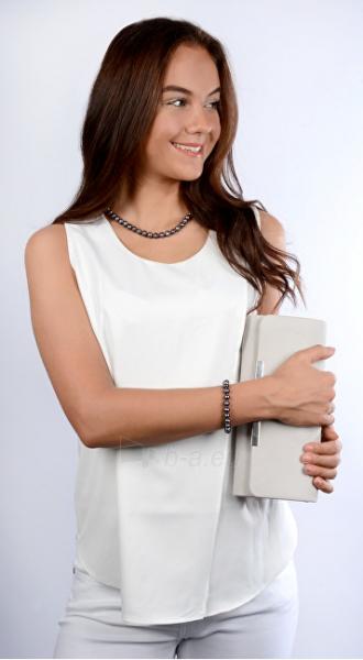 Papuošalų komplektas JwL Luxury Pearls Jewelry set of genuine blue pearls JL0370 Paveikslėlis 4 iš 4 310820126789