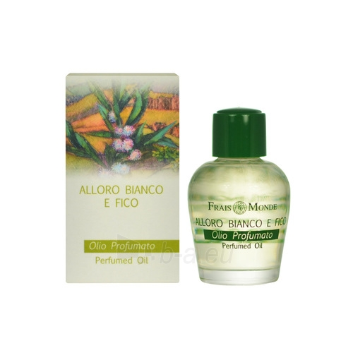 Parfumuotas aliejus Frais Monde White Laurel And Fig Perfumed Oil Perfumed oil 12ml Paveikslėlis 1 iš 1 250811012802