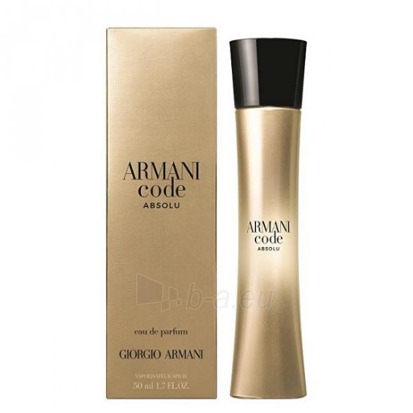 Parfumuotas vanduo Armani CODE ABSOLU FEMME EDP 75 ml Paveikslėlis 1 iš 1 310820227196