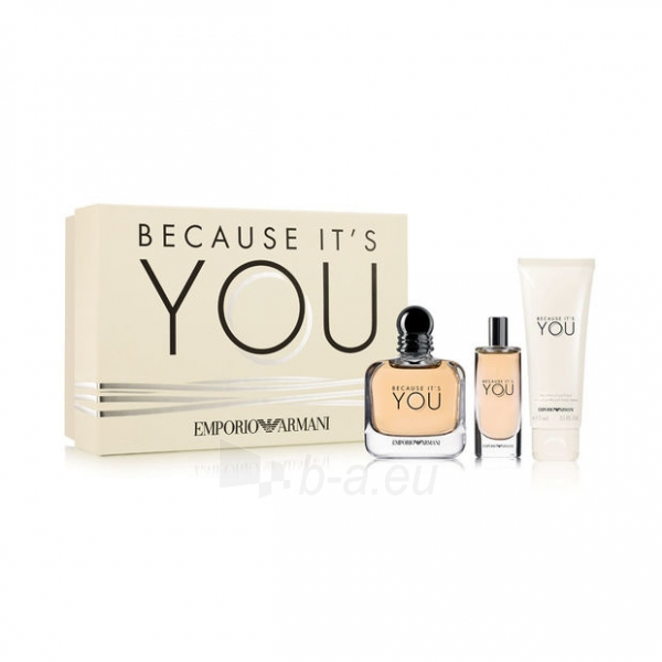 Parfumuotas vanduo Armani Emporio Armani Because It's You EDP 100 ml (Rinkinys) Paveikslėlis 1 iš 1 310820153605
