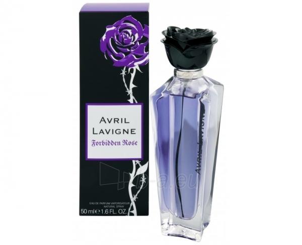 Parfimērijas ūdens Avril Lavigne Forbidden Rose EDP 50ml Paveikslėlis 1 iš 1 250811001855