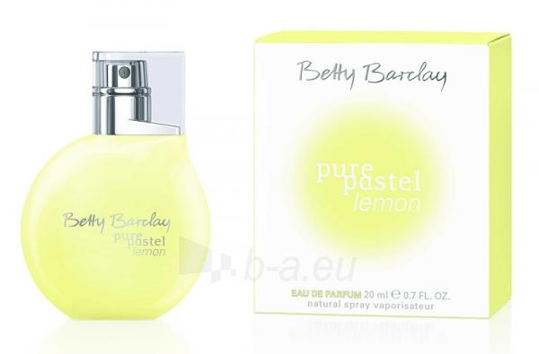 Parfumuotas vanduo Betty Barclay Pure Pastel Lemon EDP 20 ml Paveikslėlis 1 iš 1 310820089703