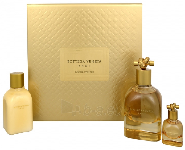 Perfumed water Bottega Veneta Bottega Veneta Knot EDP 75 ml (Set 4) Paveikslėlis 1 iš 1 310820043987