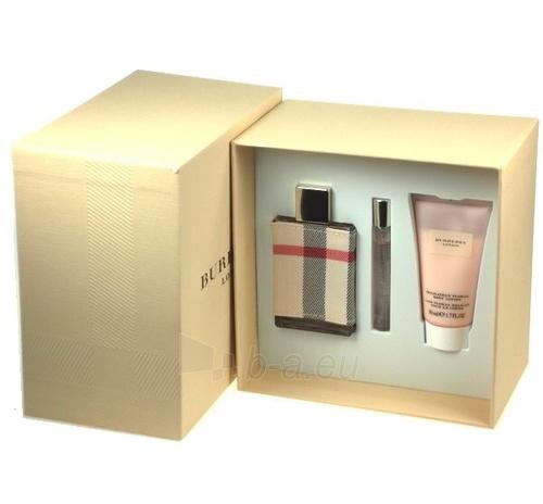 Parfumuotas vanduo Burberry LONDON Perfumed water 50ml (rinkinys) Paveikslėlis 1 iš 1 250811001990