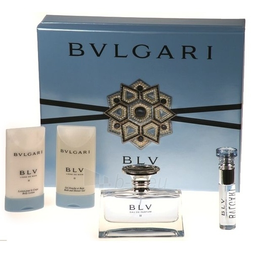 Bvlgari BLV II EDP 75ml (set) Paveikslėlis 1 iš 1 250811002025