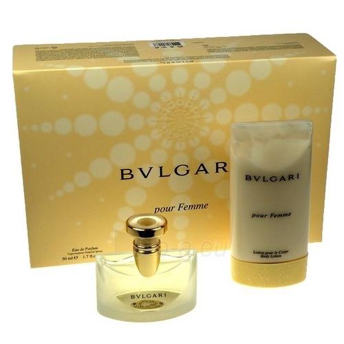 Parfumuotas vanduo Bvlgari Pour Femme EDP 50ml (rinkinys) Paveikslėlis 1 iš 1 250811002055