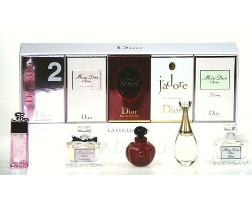 Christian Dior Mini Set EDP 5x5ml 5 Paveikslėlis 1 iš 1 250811002389