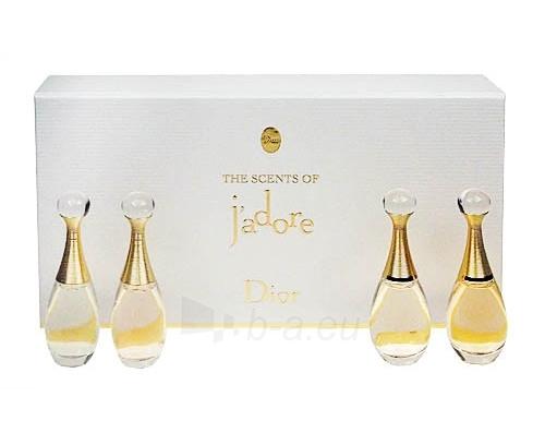 Christian Dior The Scents of Jadore EDP 4x4ml (set) Paveikslėlis 1 iš 1 250811010070