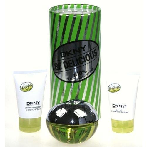 Parfumuotas vanduo DKNY Be Delicious EDP 100ml (rinkinys) Paveikslėlis 1 iš 1 250811007301
