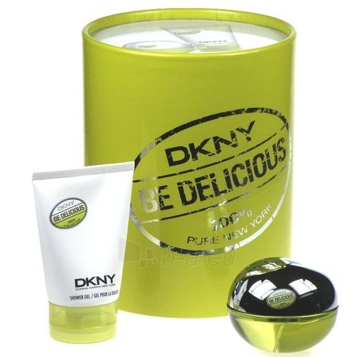 Parfimērijas ūdens DKNY Be Delicious EDP 50ml (komplekts 3) Paveikslėlis 1 iš 1 250811007310
