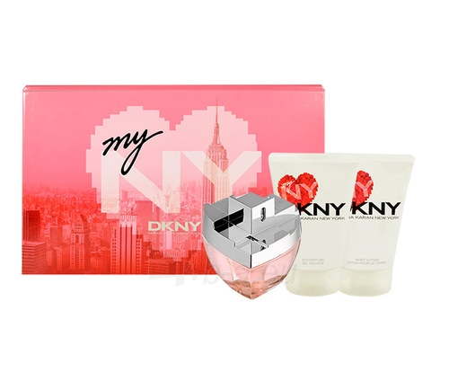 Parfimērijas ūdens DKNY My NY EDP 100ml (Rinkinys 5) Paveikslėlis 1 iš 1 310820018582