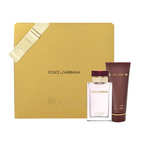 Parfimērijas ūdens Dolce & Gabbana Pour Femme EDP 50ml (Rinkinys) Paveikslėlis 1 iš 1 310820004577