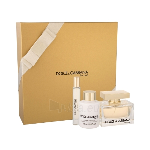 Perfumed water Dolce & Gabbana The One EDP 75ml (Set 3) Paveikslėlis 1 iš 1 310820022522