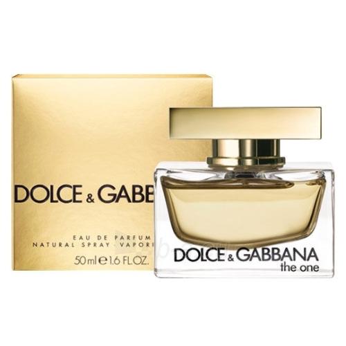 Parfumuotas vanduo Dolce & Gabbana The One Perfumed water 50ml (testeris) Paveikslėlis 1 iš 1 250811003052