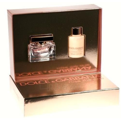 Parfimērijas ūdens Dolce & Gabbana The One Rose EDP 50ml (Edp 50ml. 100ml Body lotion) Paveikslėlis 1 iš 1 250811007333