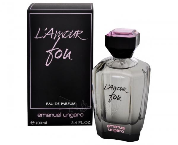 Parfumuotas vanduo Emanuel Ungaro L´Amour Fou Perfumed water 30ml Paveikslėlis 1 iš 1 250811010309