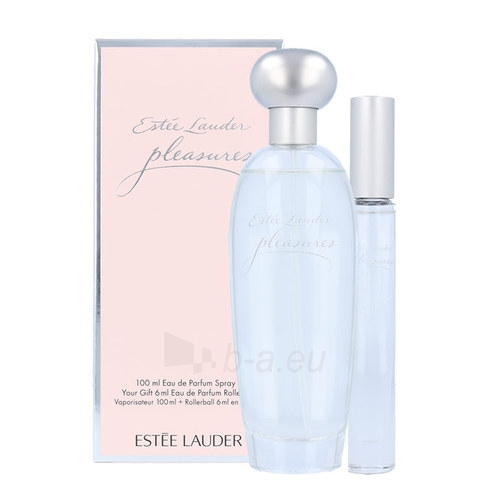 Parfimērijas ūdens Esteé Lauder Pleasures EDP 100ml (Rinkinys 3) Paveikslėlis 1 iš 1 310820027281