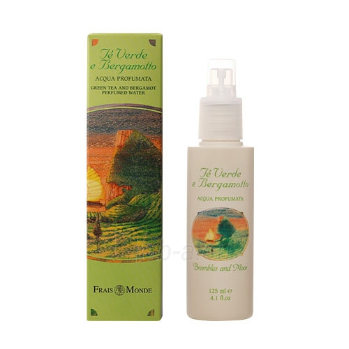 Parfumuotas vanduo Frais Monde Green Tea And Bergamot Perfumed Water Cosmetic 125ml Paveikslėlis 1 iš 1 310820025123