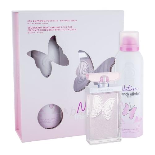 Parfumuotas vanduo Franck Olivier Nature Perfumed water 75ml (rinkinys) Paveikslėlis 1 iš 1 250811010598