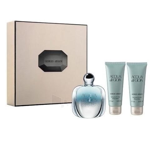 Parfumuotas vanduo Giorgio Armani Acqua di Gioia Essenza Perfumed water 50ml (rinkinys) Paveikslėlis 1 iš 1 250811010242