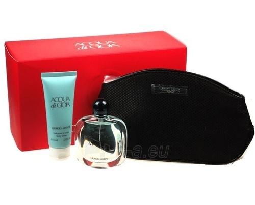 Parfumuotas vanduo Giorgio Armani Acqua di Gioia Perfumed water 50ml (Rinkinys) Paveikslėlis 1 iš 1 250811007410
