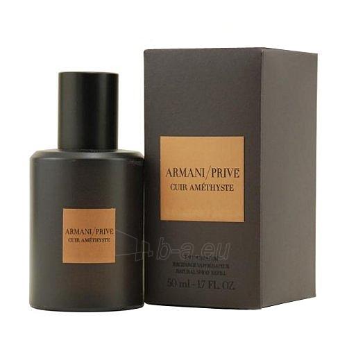 Parfumuotas vanduo Giorgio Armani Armani Prive Cuir Amethyste Perfumed water 50ml Paveikslėlis 1 iš 1 250811010037