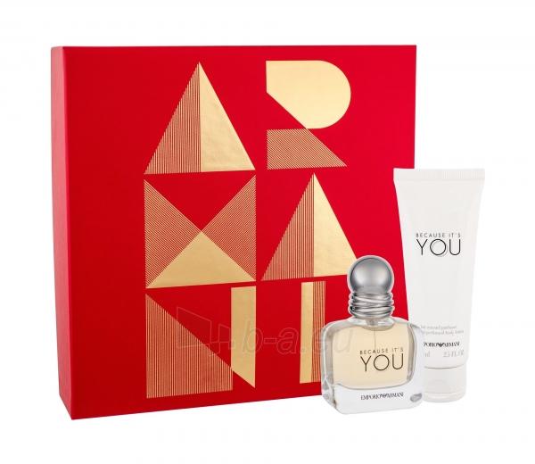 Perfumed Water Giorgio Armani Emporio Armani Because Its You Eau De