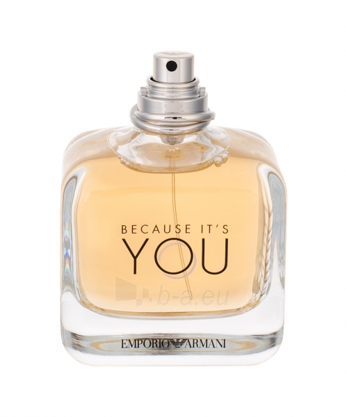 Parfimērijas ūdens Giorgio Armani Emporio Because It´s You EDP 100ml (testeris) Paveikslėlis 1 iš 1 310820138236