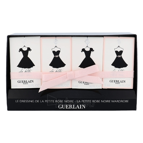 Parfumuotas vanduo Guerlain La Petite Robe Noire Mini set EDP 4x5ml Paveikslėlis 1 iš 1 310820042515