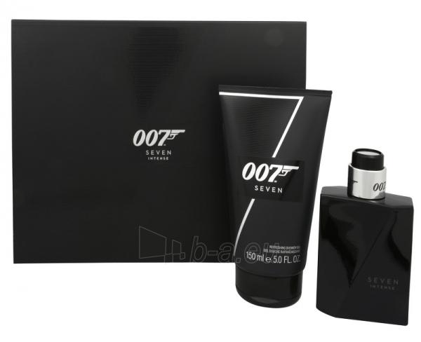 Parfumuotas vanduo James Bond James Bond 007 Seven Intense 50 ml (Rinkinys) Paveikslėlis 1 iš 1 2508120002888