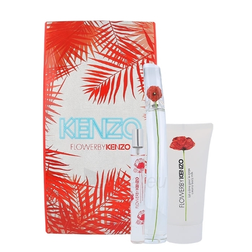 Parfumuotas vanduo Kenzo Flower By Kenzo EDP 100ml (Rinkinys 5) Paveikslėlis 1 iš 1 250811014343