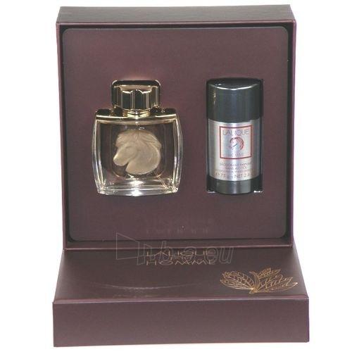 Parfumuotas vanduo Lalique Pour Homme Equus Perfumed water 75ml (rinkinys) Paveikslėlis 1 iš 1 250812001140