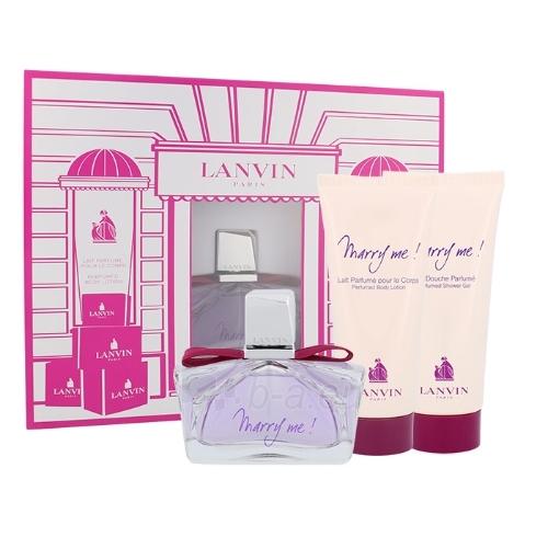 Parfumuotas vanduo Lanvin Marry Me Perfumed water 75ml (rinkinys) Paveikslėlis 1 iš 1 250811010495