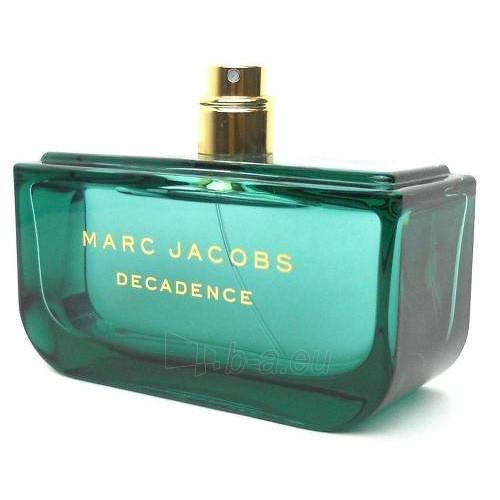 Perfumed water Marc Jacobs Decadence EDP 100 ml (tester) Paveikslėlis 1 iš 1 310820041759