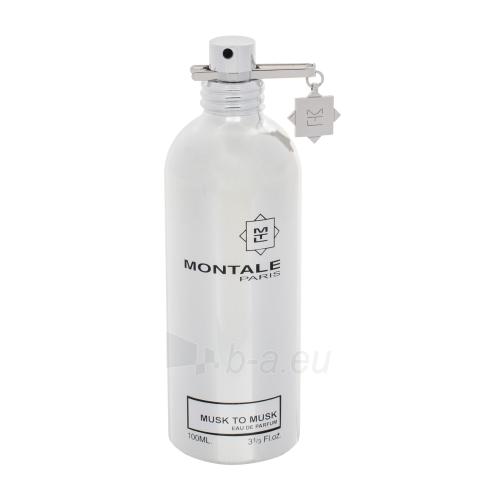 Parfimērijas ūdens Montale Paris Musk to Musk EDP 100ml (testeris) Paveikslėlis 1 iš 1 310820138079