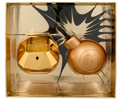 Perfumed water Paco Rabanne Lady Million EDP 50 ml + MP3 reproduktor (Set) Paveikslėlis 1 iš 1 310820106289