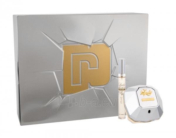 Parfimērijas ūdens Paco Rabanne Lady Million Lucky Eau de Parfum 80ml (Rinkinys) Paveikslėlis 1 iš 1 310820162823
