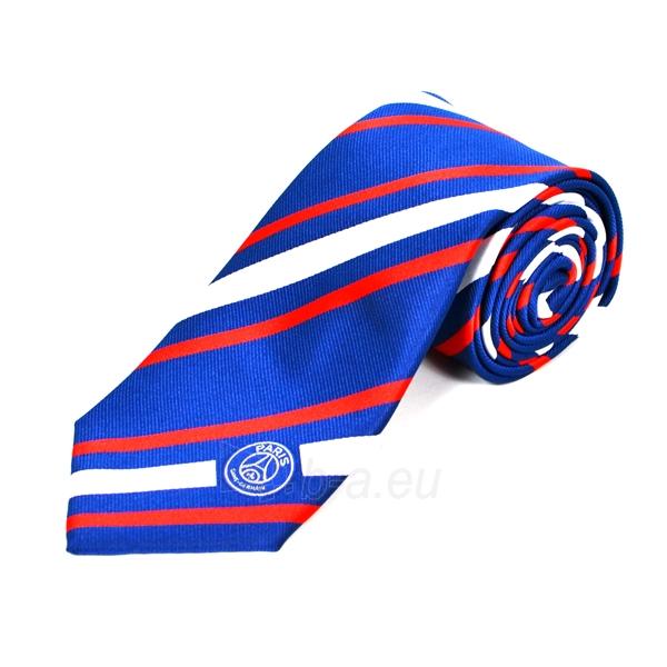 Paris Saint - German F.C. kaklaraištis (Mėlynas dryžuotas) Paveikslėlis 1 iš 2 251009001542