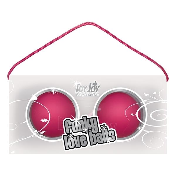 Pašėlę kamuoliukai - Rožiniai Paveikslėlis 1 iš 2 25140201000047