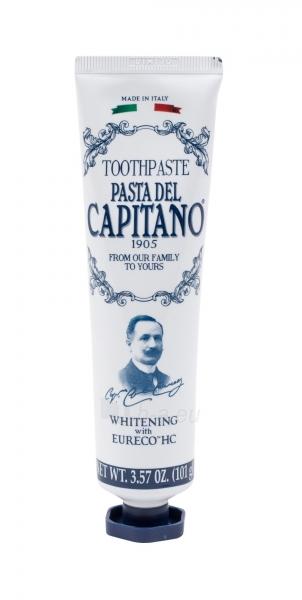Pasta Del Capitano Whitening Toothpaste Cosmetic 75ml Paveikslėlis 1 iš 1 250892000351