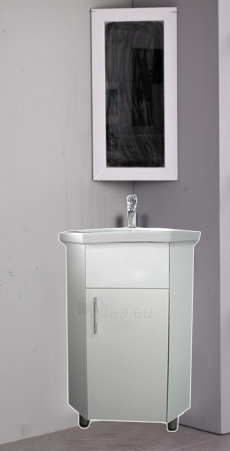 Builded corner cabinet with wash basin and mirror SV 015 Paveikslėlis 2 iš 3 30057400056