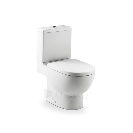 Acting toilet Roca Meridian with bakeliu. Paveikslėlis 2 iš 3 270713000490