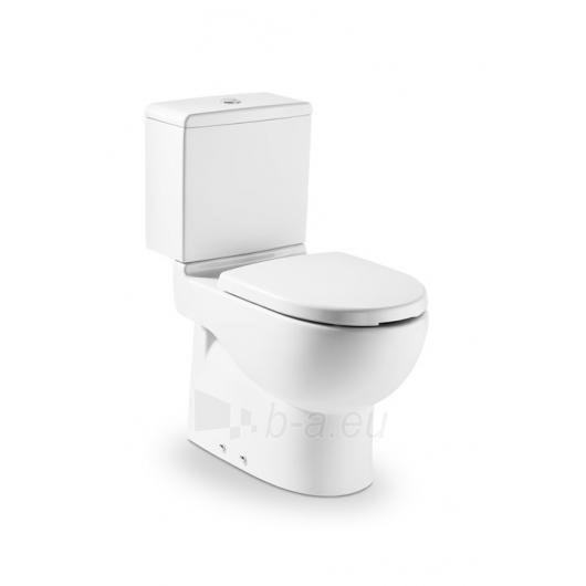 Pastatomas paaukštintas tualete Roca Meridian ar bakeliu. Paveikslėlis 2 iš 2 270713000492