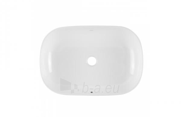 Pastatomas praustuvas SANIBOLD 600x400x150mm, baltas Paveikslėlis 2 iš 4 310820165682