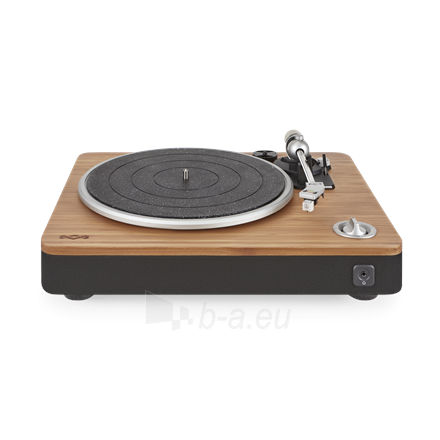 Patefonas Marley Stir It Up Turntable, RCA, Signature Black Paveikslėlis 1 iš 7 310820223291